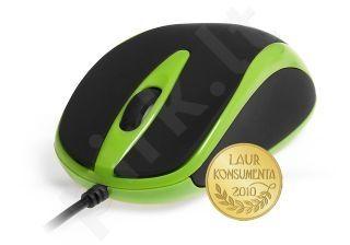 Pelė Media-Tech PLANO Optinė 800 cpi 3 mygtukai+ ratukas USB