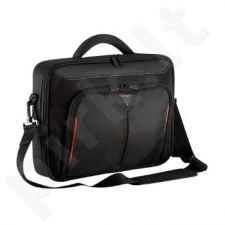 Targus Krepšy 13 - 14.1'' / 33 - 35.8cm Classic+ Clamshell Case, juoda ir raudo