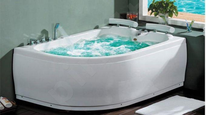 Masažinė vonia B201-1 dešininė su hidromasažu