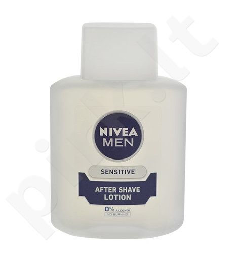 Nivea Men Sensitive losjonas po skutimosi Lotion, kosmetika vyrams, 100ml