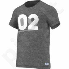 Marškinėliai futbolui Adidas Real Gr Tee Bet M AI4620
