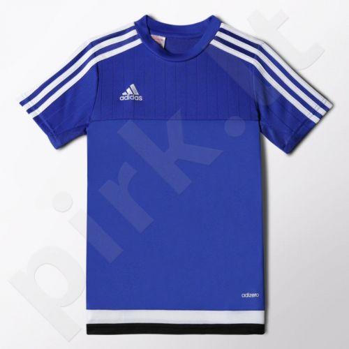 Marškinėliai futbolui Adidas Tiro15 Training Jersey Youth Junior S22312