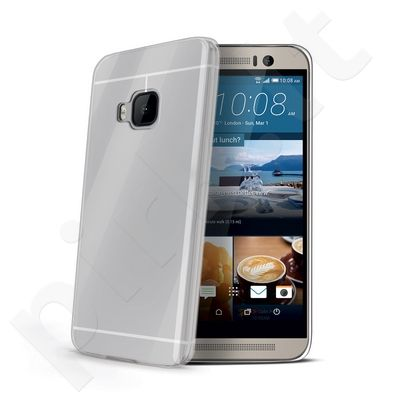 HTC One M9 dėklas GELSKIN Celly permatomas