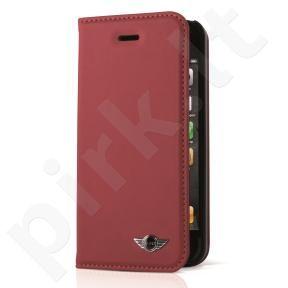 Apple iphone 6/6S atverčiamas dėklas PU Mini raudonas