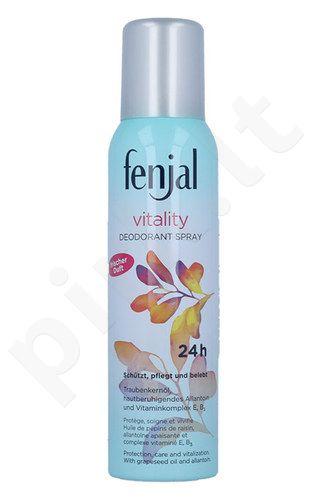 Fenjal Vitality dezodorantas purškiklis 24H, kosmetika moterims, 150ml