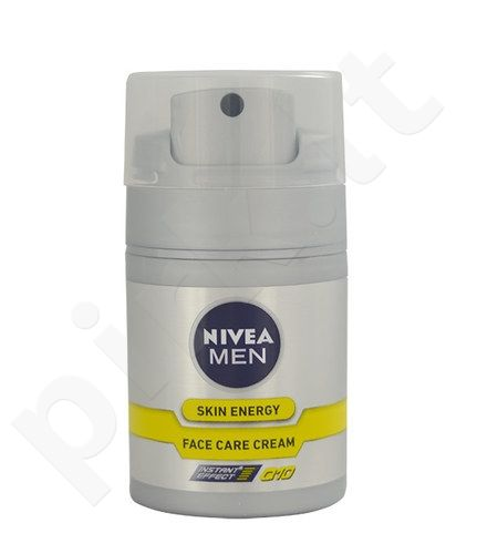 Nivea Men Skin Energy Face Care kremas, kosmetika vyrams, 50ml