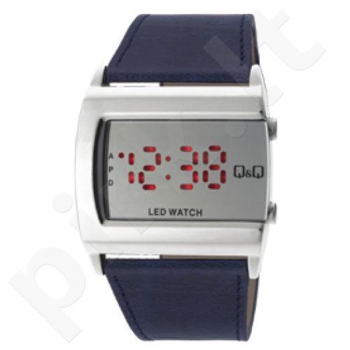 Universalus laikrodis Q&Q LED laikrodis M101J391Y