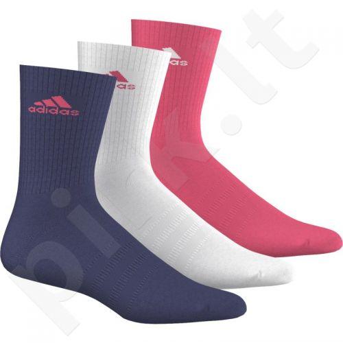 Kojinės Adidas 3S Per Cr HC 3 poros AA5488