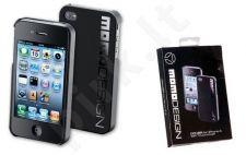 Apple iPhone 4 dėklas Momo juodas