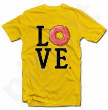 """Marškinėliai """"Meilė spurgoms"""""""