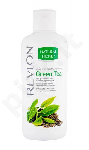 Revlon Natural Honey, Green Tea, dušo želė moterims, 650ml