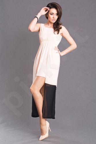 Emamoda suknelė - šviesaus persiko 6102-2