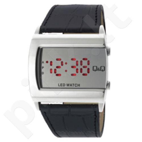 Universalus laikrodis Q&Q LED laikrodis M101J341Y