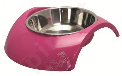 Rogz Dubenėlis Bowzl Luna Small  Pink 160ml