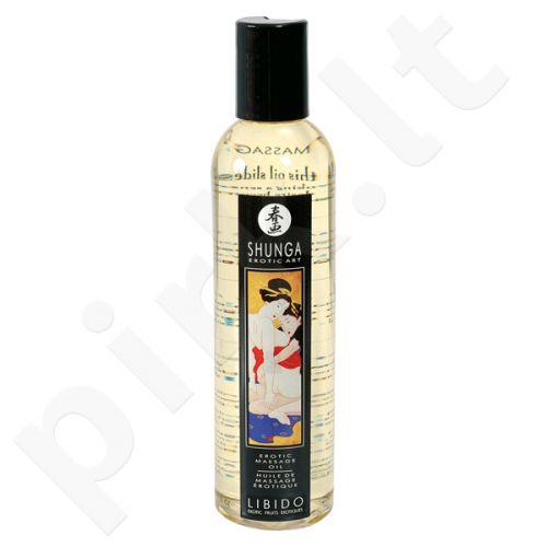 Masažo aliejus Shunga Libido - Egzotiški vaisiai 250 ml