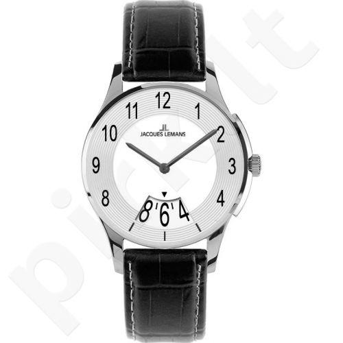Vyriškas JACQUES LEMANS laikrodis 1-1747B