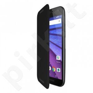 Motorola Moto G 3RD Flip Shell ASMCALFLPBLK-M juodas