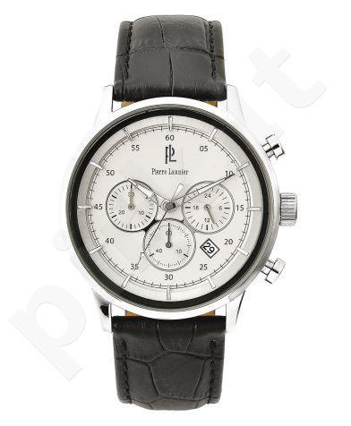Laikrodis Pierre Lannier  ES    chronografas. S.steel/oda 22mm. Miyota 44mm. 5 ATM