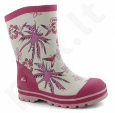 Natūralaus kaukmedžio guminiai batai vaikams VIKING FLORA(1-15130-6650)