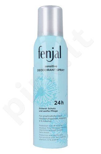Fenjal švelnus dezodorantas purškiklis 24H, kosmetika moterims, 150ml