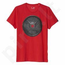 Marškinėliai Adidas Weightlifting Graphic Tee M AY6934