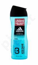 Adidas Ice Dive, dušo želė vyrams, 300ml