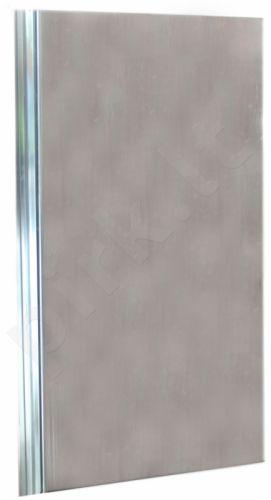 Vonios durys (skaidraus stiklo) YK 80