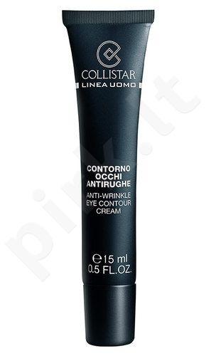 Collistar Men Anti-wrinkle Eye Contour kremas, kosmetika vyrams, 15ml