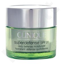 Clinique Superdefense SPF20 Moisturizer Combination Oily, kosmetika moterims, 50ml, (testeris)