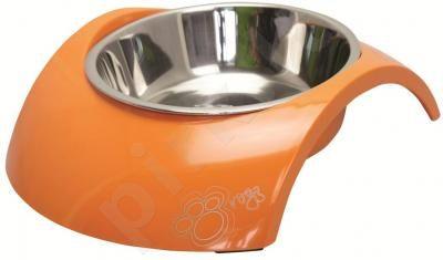 Rogz Dubenėlis Bowzl Luna Medium Orange 350ml