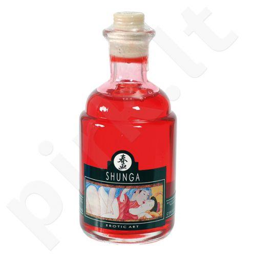 Erotinis aliejus Shunga - Liepsnojanti vyšnia 100 ml
