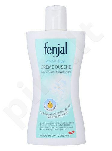 Fenjal Sensitive dušo kremas, kosmetika moterims, 200ml