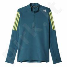 Bliuzonas bėgimui  Adidas Response 1/2 Zip Long Sleeve Tee M S93827