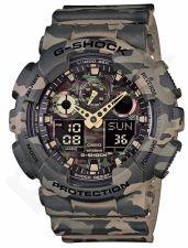 Laikrodis CASIO G-SHOCK CAMO  GA-100CM-5ADR