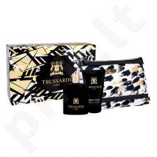 Trussardi Uomo 2011 rinkinys vyrams, (EDT 100 ml + dušo želė 100 ml + kosmetikos krepšys)