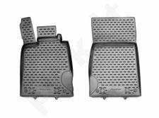 Guminiai kilimėliai 3D MERCEDES-BENZ SL-Class R230 2008-2013, 2 pcs. /L46009G /gray