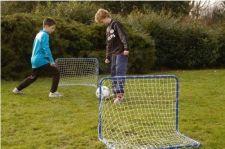 Vaikiški futbolo vartai 78 x 56 x 45 cm, 2 vnt.
