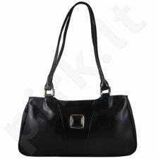 DAN-A T26 juoda rankinė iš natūralios odos , moteriška