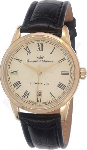 Laikrodis YONGER&BRESSON automatinis -   Brissac   . High resistance sapphire glass