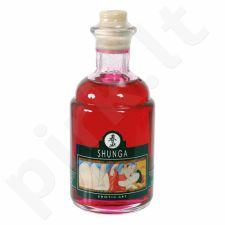 Erotinis aliejus Shunga - Avietiniai jausmai 100 ml