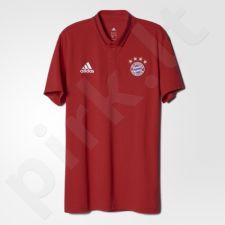 Marškinėliai polo Adidas FC Bayern Monachium Anth M AC6728