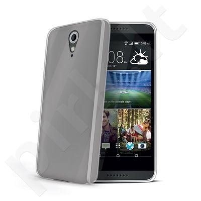 HTC Desire 620G dėklas GELSKIN Celly permatomas