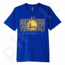Marškinėliai Adidas Tee 3 Golden State Warriors M AX7716