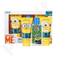 Minions Minions rinkinys vaikams, (EDT 75 ml + dušo želė 150 ml + šampūnas & kondicionierius 2v1 150 ml)