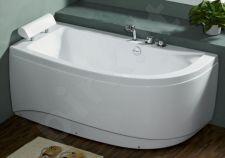 Akrilinė vonia B1680 kairinė be masažų (simple) 150cm