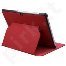 Qoltec Tablet Dėklas GALAXY TAB2/ P5100 10.1, red