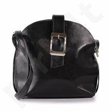 DAN-A T29 juoda rankinė iš natūralios odos , moteriška