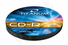 CD-R TITANUM [ Soft Pack 10 | 700MB | 52x | Silver ]