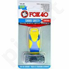 Švilpukas FOX40 Sharx Safety + virvutė 8703-2208