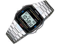 Casio Retro Collection A163WA-1QES vyriškas laikrodis-chronometras